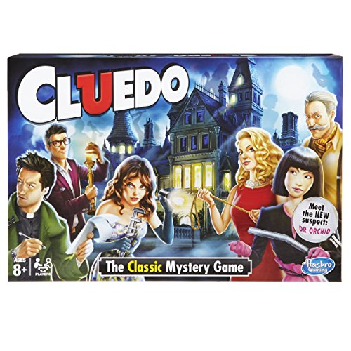 ボードゲーム 英語 アメリカ 海外ゲーム 【送料無料】Hasbro Gaming Cluedo The Classic Mystery Board Gameボードゲーム 英語 アメリカ 海外ゲーム