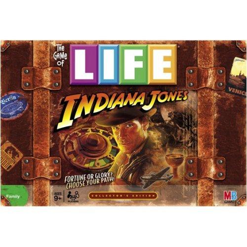ボードゲーム 英語 アメリカ 海外ゲーム 【送料無料】Hasbro Game of Life Indiana Jonesボードゲーム 英語 アメリカ 海外ゲーム