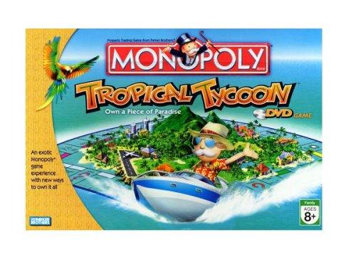 ボードゲーム 英語 アメリカ 海外ゲーム Hasbro Monopoly Tropical Tycoon Gameボードゲーム 英語 アメリカ 海外ゲーム