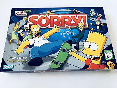 ボードゲーム 英語 アメリカ 海外ゲーム 【送料無料】Hasbro Sorry Simpsonsボードゲーム 英語 アメリカ 海外ゲーム
