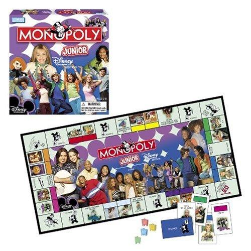 ボードゲーム 英語 アメリカ 海外ゲーム 【送料無料】Monopoly Junior Disney Channel Editionボードゲーム 英語 アメリカ 海外ゲーム