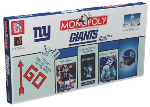 ボードゲーム 英語 アメリカ 海外ゲーム 【送料無料】New York Giants Collector?s Edition Monopolyボードゲーム 英語 アメリカ 海外ゲーム