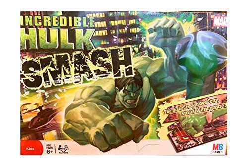 ボードゲーム 英語 アメリカ 海外ゲーム Milton Bradley Inc赤ible Hulk Smash Gameボードゲーム 英語 アメリカ 海外ゲーム