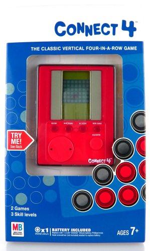 ボードゲーム 英語 アメリカ 海外ゲーム 【送料無料】Handheld Electronic Connect 4 Gameボードゲーム 英語 アメリカ 海外ゲーム