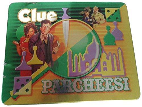 ボードゲーム 英語 アメリカ 海外ゲーム 【送料無料】Hasbro Clue/Parcheesiボードゲーム 英語 アメリカ 海外ゲーム
