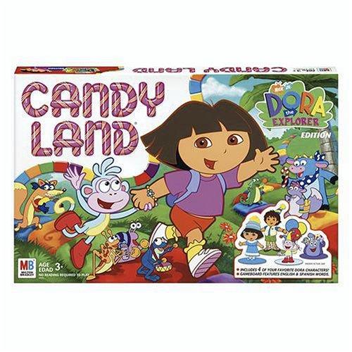 ボードゲーム 英語 アメリカ 海外ゲーム 【送料無料】Candy Land - Dora The Explorerボードゲーム 英語 アメリカ 海外ゲーム