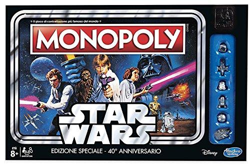 ボードゲーム 英語 アメリカ 海外ゲーム 【送料無料】Monopoly - Star Wars 40TH ANNIボードゲーム 英語 アメリカ 海外ゲーム