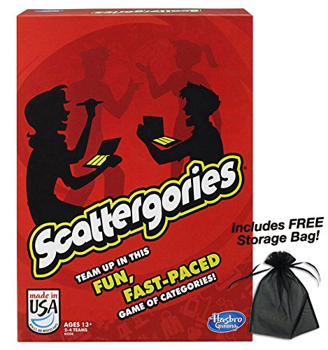 ボードゲーム 英語 アメリカ 海外ゲーム 【送料無料】Hasbro Scattergories w/Free Storage Bagボードゲーム 英語 アメリカ 海外ゲーム