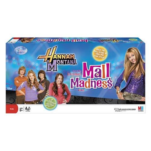 ボードゲーム 英語 アメリカ 海外ゲーム Mall Madness Hannah Montanaボードゲーム 英語 アメリカ 海外ゲーム