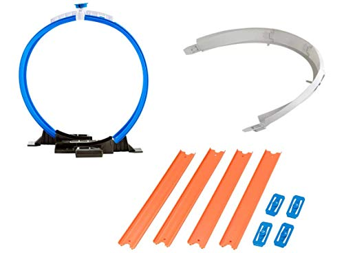 ホットウィール マテル ミニカー ホットウイール Hot Wheels Workshop Track Builder Loop, Curve, Straight Track Starter Kit (3 Pack)ホットウィール マテル ミニカー ホットウイール