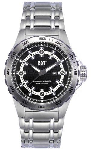 キャタピラー タフネス 腕時計 メンズ 頑丈 【送料無料】CAT WATCHES Men's YN14111122 P52 Data Analog Watchキャタピラー タフネス 腕時計 メンズ 頑丈