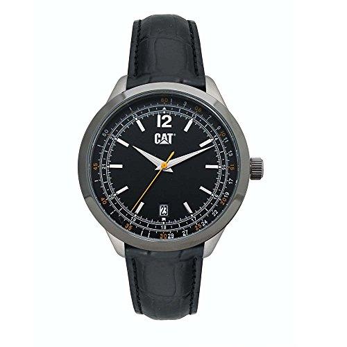 キャタピラー タフネス 腕時計 メンズ 頑丈 CATERPILLAR WATCH LEATHER STRAP EA.141.34.131キャタピラー タフネス 腕時計 メンズ 頑丈