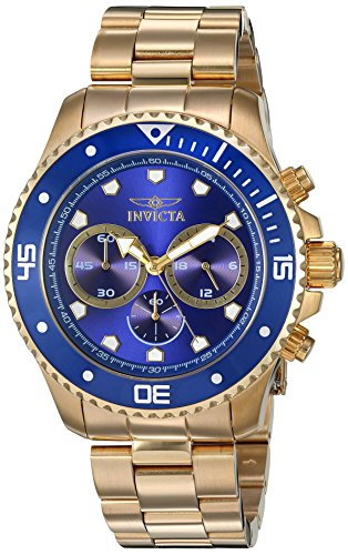 インヴィクタ インビクタ プロダイバー 腕時計 メンズ 【送料無料】Invicta Men's 'Pro Diver' Quartz Stainless Steel Watch, Color:Gold-Toned (Model: 21789)インヴィクタ インビクタ プロダイバー 腕時計 メンズ