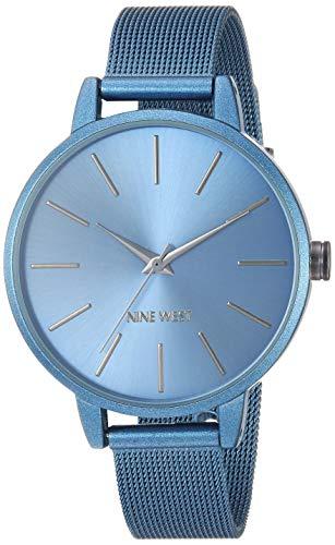 ナインウェスト 腕時計 レディース 【送料無料】Nine West Women's NW/2281BLBL Blue Mesh Bracelet Watchナインウェスト 腕時計 レディース