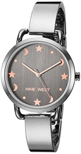 ナインウェスト 腕時計 レディース 【送料無料】Nine West Women's NW/2165GYGY Gunmetal Bangle Watchナインウェスト 腕時計 レディース