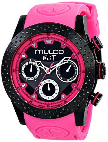 マルコ 腕時計 メンズ 【送料無料】MULCO Unisex MW5-1962-058 Analog Display Swiss Quartz Pink Watchマルコ 腕時計 メンズ