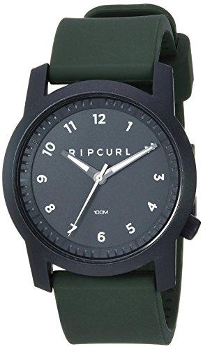 リップカール 腕時計 メンズ サーファー サーフィン 【送料無料】Rip Curl Men's Cambridge Quartz Sport Watch with Silicone Strap, Green, 22 (Model: A3088-MIL)リップカール 腕時計 メンズ サーファー サーフィン