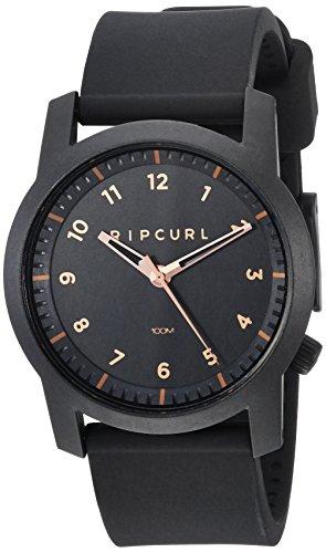 リップカール 腕時計 メンズ サーファー サーフィン Rip Curl Men's Cambridge Quartz Sport Watch with Silicone Strap, Black, 22 (Model: A3088-RSG)リップカール 腕時計 メンズ サーファー サーフィン