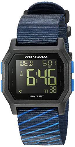 リップカール 腕時計 メンズ サーファー サーフィン 【送料無料】Rip Curl Men's Stainless Steel Quartz Sport Watch with Silicone Strap, Blue, 24 (Model: A3087NAV1SZ)リップカール 腕時計 メンズ サーファー サーフィン