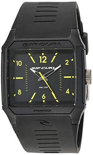 リップカール 腕時計 メンズ サーファー サーフィン Rip Curl Men's Analog-Quartz Watch with Rubber Strap, Black, 25.4 (Model: A3038MLI1SZ)リップカール 腕時計 メンズ サーファー サーフィン