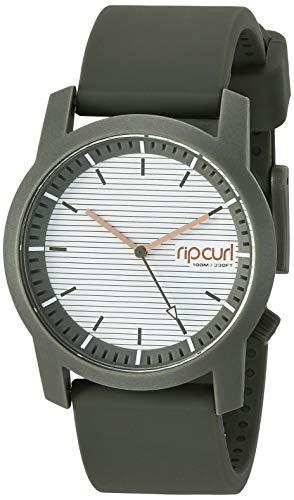 リップカール 腕時計 レディース サーファー サーフィン Rip Curl Women's Quartz Sport Watch with Silicone Strap, Green, 21.6 (Model: A2966GOLI1SZ)リップカール 腕時計 レディース サーファー サーフィン