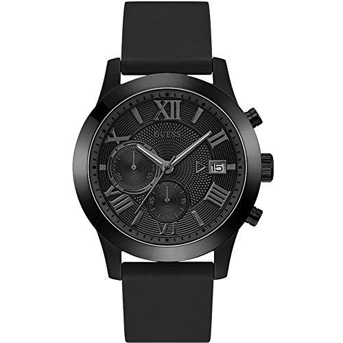 ゲス GUESS 腕時計 メンズ Guess Classic Black Dial Men's Chronograph Watch W1055G1ゲス GUESS 腕時計 メンズ