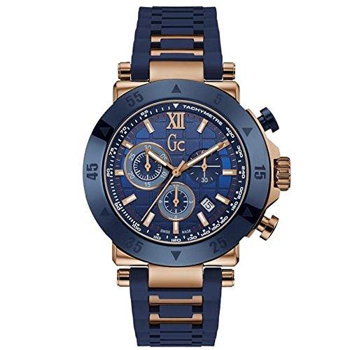腕時計 ゲス GUESS メンズ 【送料無料】GUESS Men's Gc Rose Gold-Tone and Navy Sport Watch腕時計 ゲス GUESS メンズ
