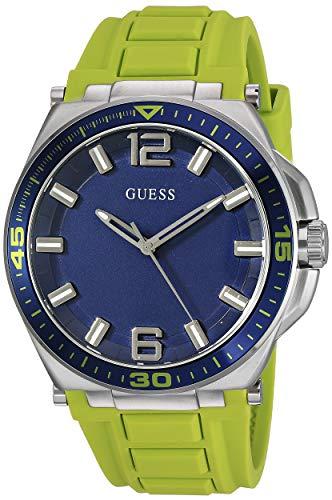 ゲス GUESS 腕時計 メンズ 【送料無料】GUESS Comfortable Lime Green Stain Resistant Silicone Watch with Second-Hand. Color: Lime Green (Model: U1253G2)ゲス GUESS 腕時計 メンズ