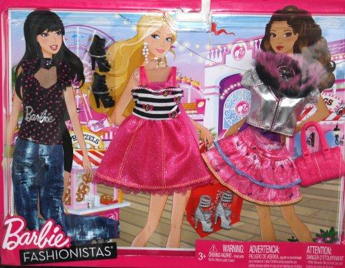 バービー バービー人形 着せ替え 衣装 ドレス Barbie Fashionistas Fashion Pack - Day at the Boardwalkバービー バービー人形 着せ替え 衣装 ドレス