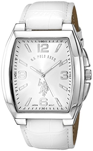 ユーエスポロアッスン 腕時計 メンズ U.S. Polo Assn. Classic Men's USC50182 Analog Display Analog Quartz White Watchユーエスポロアッスン 腕時計 メンズ