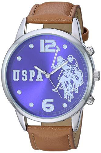 ユーエスポロアッスン 腕時計 メンズ U.S. Polo Assn. Men's Analog-Quartz Watch with Alloy Strap, Brown, 21.9 (Model: USC50404)ユーエスポロアッスン 腕時計 メンズ