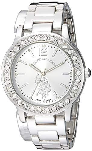 ユーエスポロアッスン 腕時計 レディース 【送料無料】U.S. Polo Assn. Women's Analog-Quartz Watch with Alloy Strap, Silver, 15.9 (Model: USC40329)ユーエスポロアッスン 腕時計 レディース