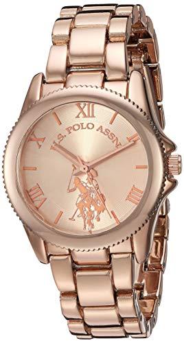 ユーエスポロアッスン 腕時計 レディース 【送料無料】U.S. Polo Assn. Women's Quartz Watch with Alloy Strap, Silver, 13.9 (Model: USC40136)ユーエスポロアッスン 腕時計 レディース
