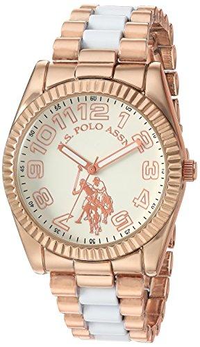 ユーエスポロアッスン 腕時計 レディース 【送料無料】U.S. Polo Assn. Women's Analog-Quartz Watch with Alloy Strap, Two Tone, 20 (Model: USC40125)ユーエスポロアッスン 腕時計 レディース