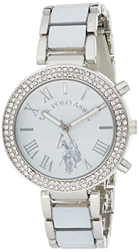 ユーエスポロアッスン 腕時計 レディース 【送料無料】U.S. Polo Assn. Women's usc40086 Analog Display Analog Quartz White Watchユーエスポロアッスン 腕時計 レディース