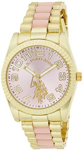 ユーエスポロアッスン 腕時計 レディース 【送料無料】U.S. Polo Assn. Women's Analog-Quartz Watch with Alloy Strap, Multi, 17.5 (Model: USC40141)ユーエスポロアッスン 腕時計 レディース