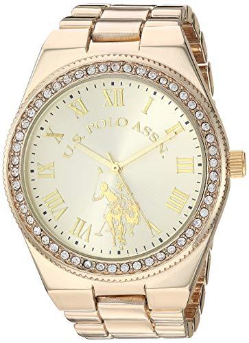 ユーエスポロアッスン 腕時計 レディース 【送料無料】U.S. Polo Assn. Women's Quartz Watch with Alloy Strap, Silver, 8.5 (Model: USC40224)ユーエスポロアッスン 腕時計 レディース