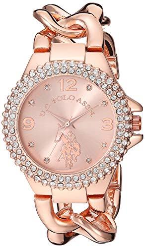 ユーエスポロアッスン 腕時計 レディース 【送料無料】U.S. Polo Assn. Women's Quartz Stainless Steel and Alloy Watch, Color:Rose Gold (Model: USC40226)ユーエスポロアッスン 腕時計 レディース