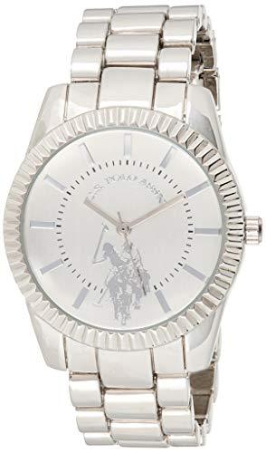 ユーエスポロアッスン 腕時計 レディース 【送料無料】U.S. Polo Assn. Women's Analog-Quartz Watch with Alloy Strap, Silver, 8 (Model: USC40264AZ)ユーエスポロアッスン 腕時計 レディース
