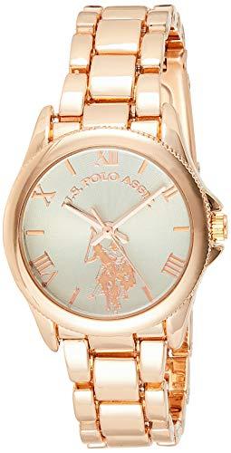 ユーエスポロアッスン 腕時計 レディース 【送料無料】U.S. Polo Assn. Women's Analog-Quartz Watch with Alloy Strap, Rose Gold, 15 (Model: USC40039)ユーエスポロアッスン 腕時計 レディース