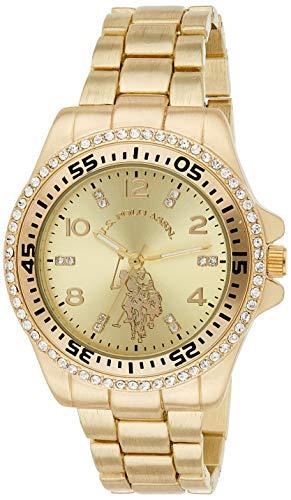 ユーエスポロアッスン 腕時計 レディース 【送料無料】U.S. Polo Assn. Women's Stainless Steel Quartz Watch with Alloy Strap, Silver, 18.7 (Model: USC40230)ユーエスポロアッスン 腕時計 レディース