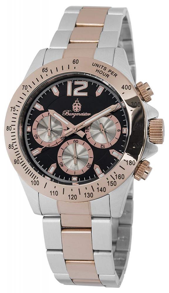 腕時計 ブルゲルマイスター メンズ ドイツ高級腕時計 【送料無料】Burgmeister Houston Gents Chronograph BM212-327腕時計 ブルゲルマイスター メンズ ドイツ高級腕時計