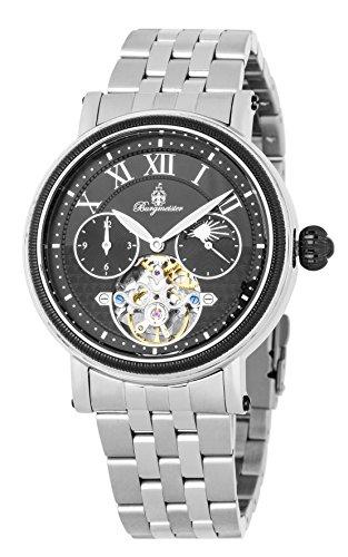 ブルゲルマイスター ドイツ高級腕時計 メンズ 【送料無料】Burgmeister Men's Automatic-self-Wind Watch with Stainless-Steel Strap, Silver, 22 (Model: BM344-621)ブルゲルマイスター ドイツ高級腕時計 メンズ