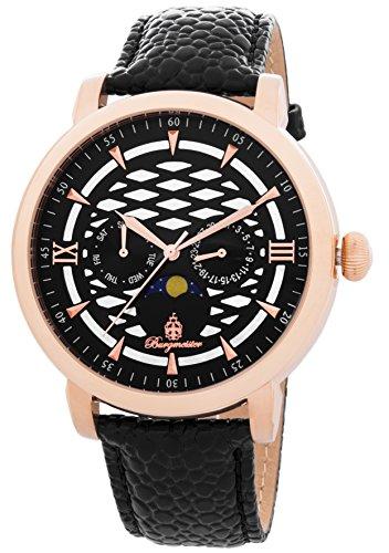 ブルゲルマイスター ドイツ高級腕時計 メンズ 【送料無料】Burgmeister Men's BM217-322 Analog Display Quartz Black Watchブルゲルマイスター ドイツ高級腕時計 メンズ