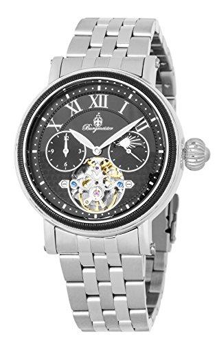 ブルゲルマイスター ドイツ高級腕時計 メンズ 【送料無料】Burgmeister Men's Automatic-self-Wind Watch with Stainless-Steel Strap, Silver, 22 (Model: BM344-121ブルゲルマイスター ドイツ高級腕時計 メンズ