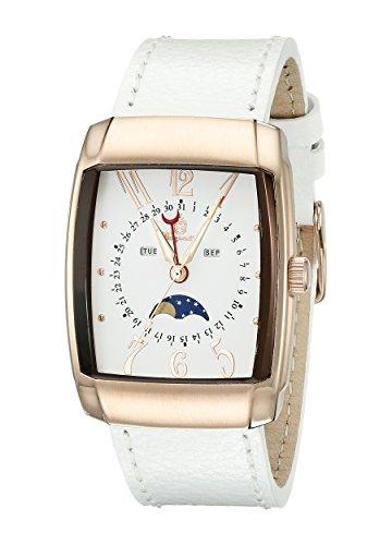 ブルゲルマイスター ドイツ高級腕時計 メンズ Burgmeister Men's BM612-386 Analog Display Quartz White Watchブルゲルマイスター ドイツ高級腕時計 メンズ