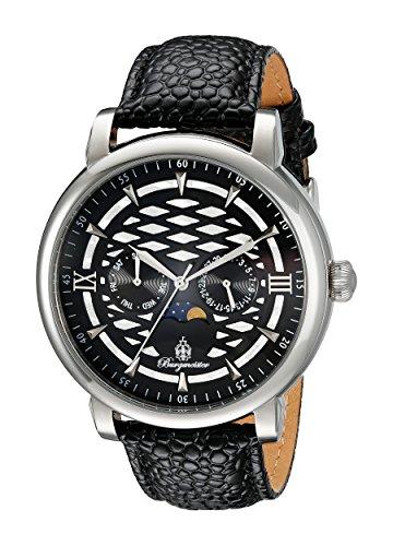 ブルゲルマイスター ドイツ高級腕時計 メンズ Burgmeister Men's BM217-122 Analog Display Quartz Black Watchブルゲルマイスター ドイツ高級腕時計 メンズ