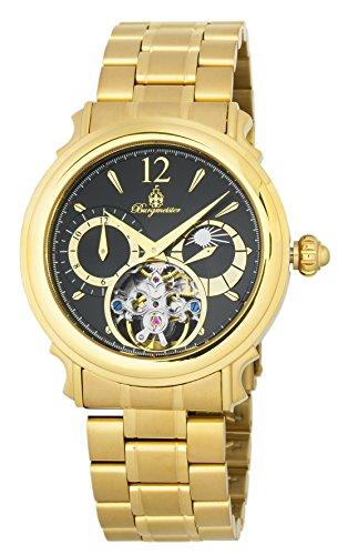 ブルゲルマイスター ドイツ高級腕時計 メンズ 【送料無料】Burgmeister Men's Automatic-self-Wind Watch with Stainless-Steel-Plated Strap, Gold, 22 (Model: BM345-229)ブルゲルマイスター ドイツ高級腕時計 メンズ