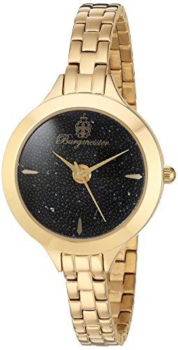 ブルゲルマイスター ドイツ高級腕時計 レディース 【送料無料】Burgmeister Women's BM536-222 Analog Display Analog Quartz Gold Watchブルゲルマイスター ドイツ高級腕時計 レディース