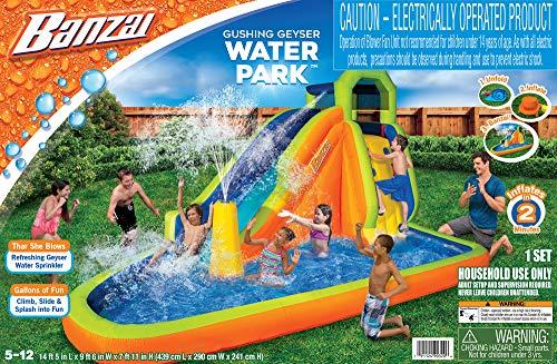 プール ビニールプール ファミリープール オーバルプール 家庭用プール 【送料無料】BANZAI Gushing Geyser Water Park - 173